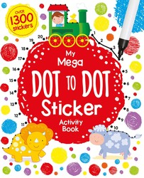 My Mega Dot to Dot Sticker Activity Book