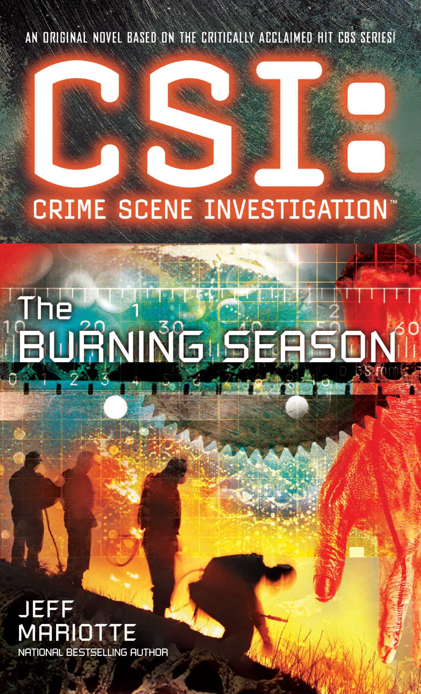 Csi crime scene investigation the burning 9781501102783 hr