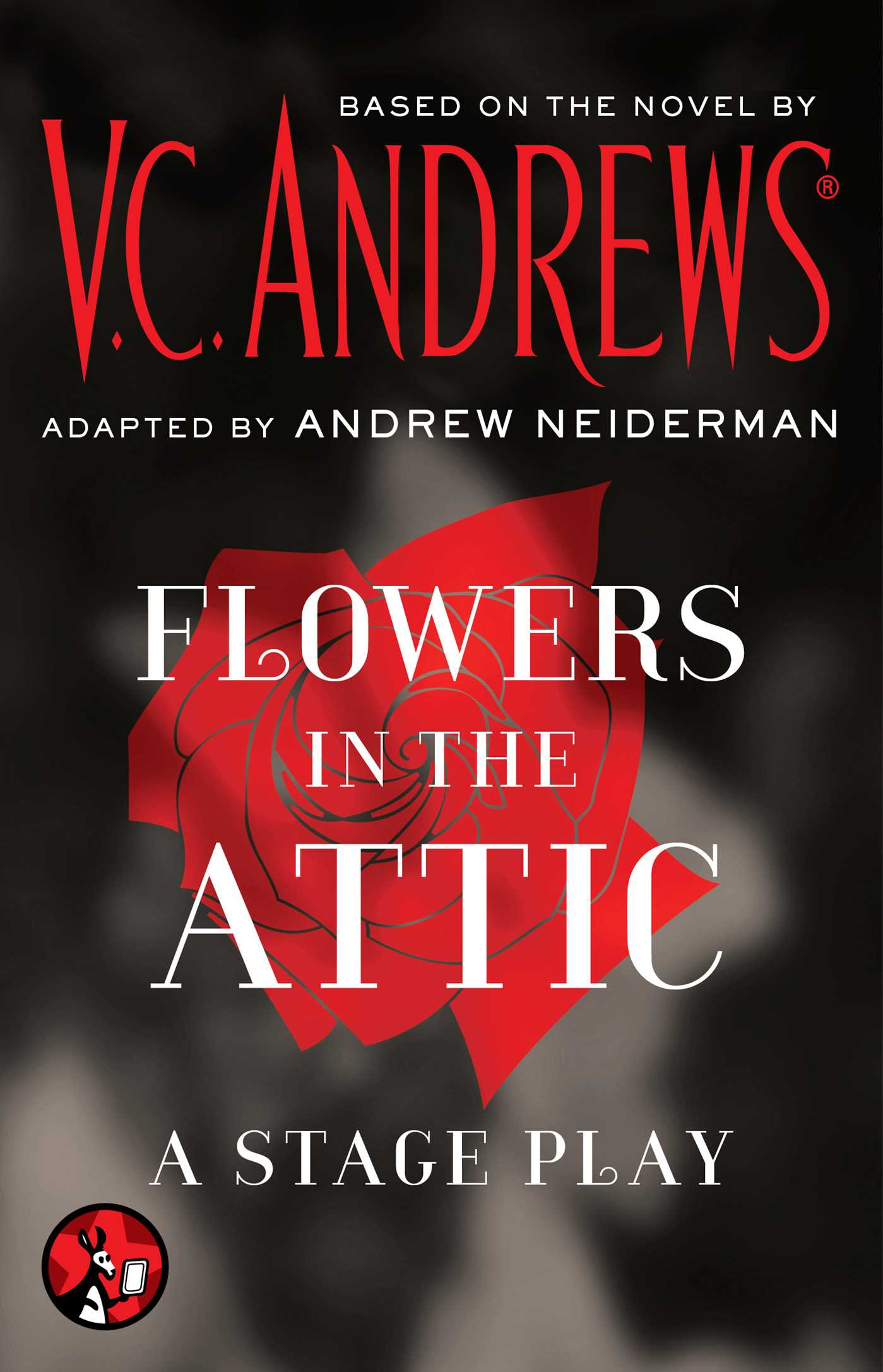 in cover Flowers book the attic