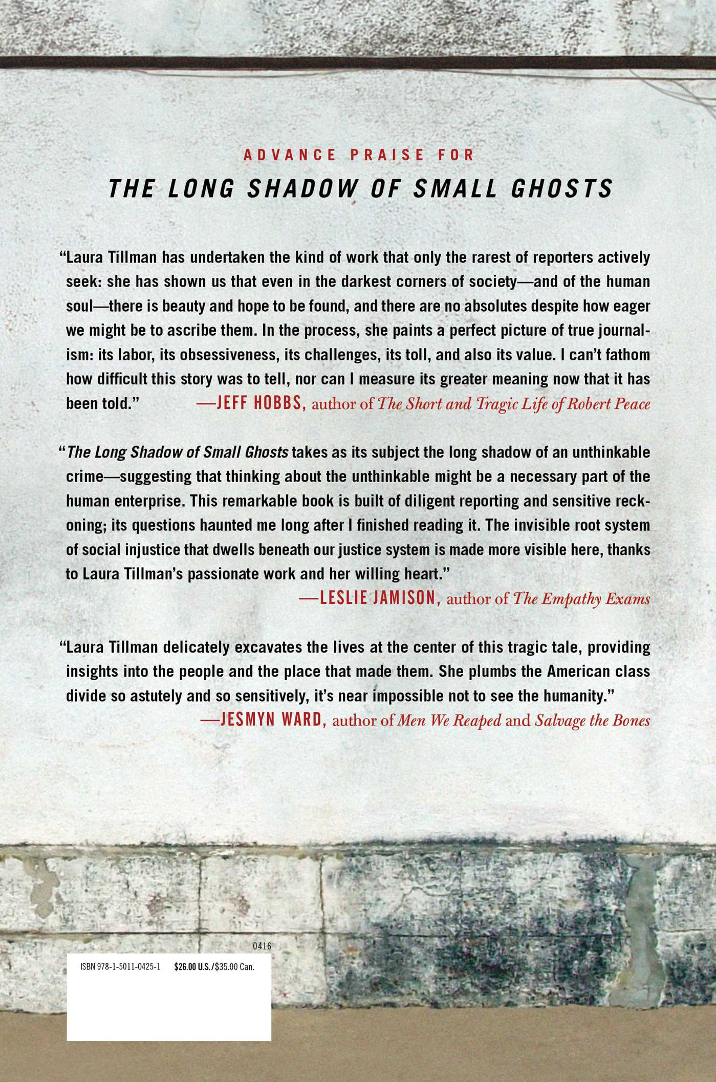The long shadow of small ghosts 9781501104251 hr back
