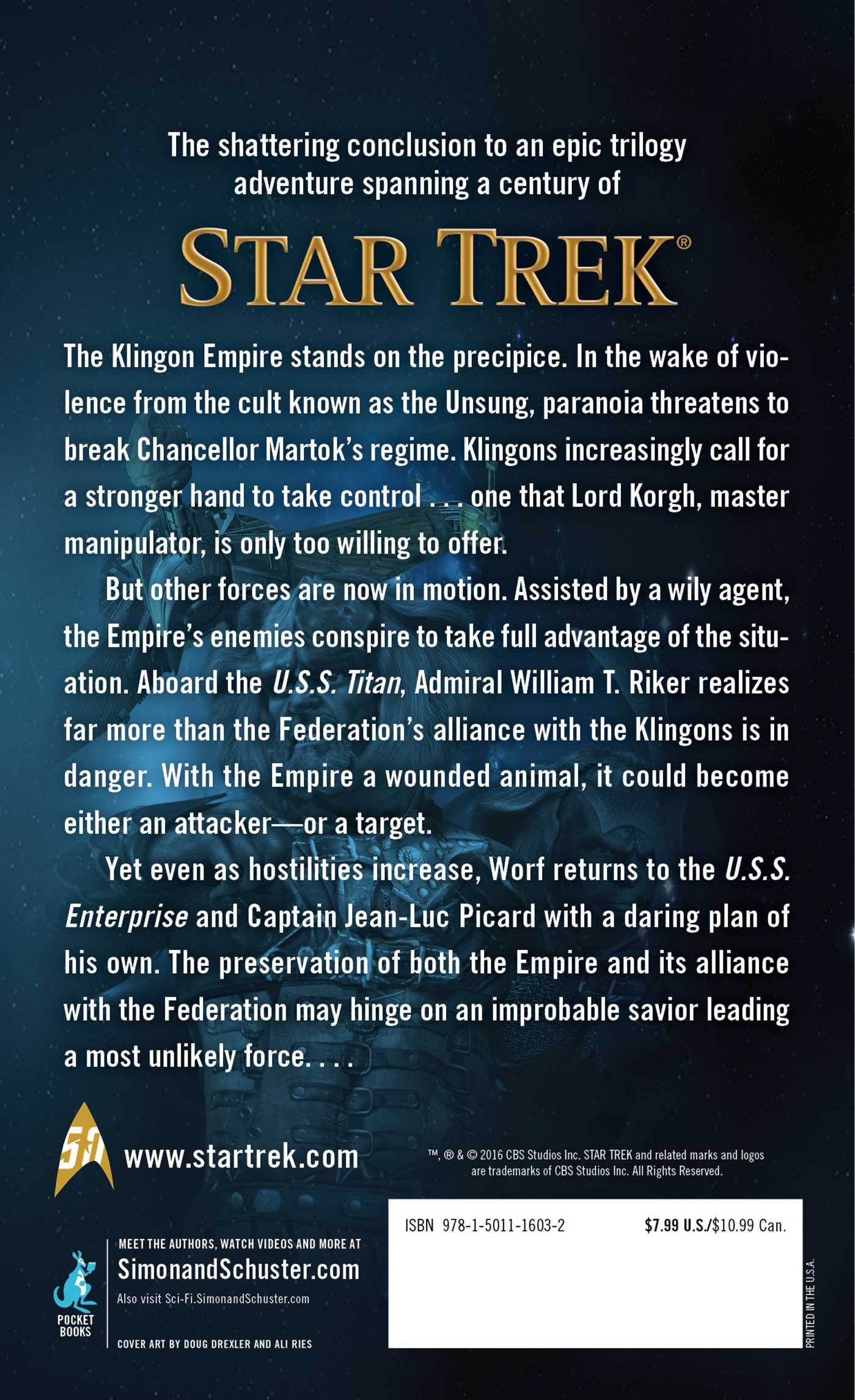 Star trek the hall of heroes 9781501116032 hr back