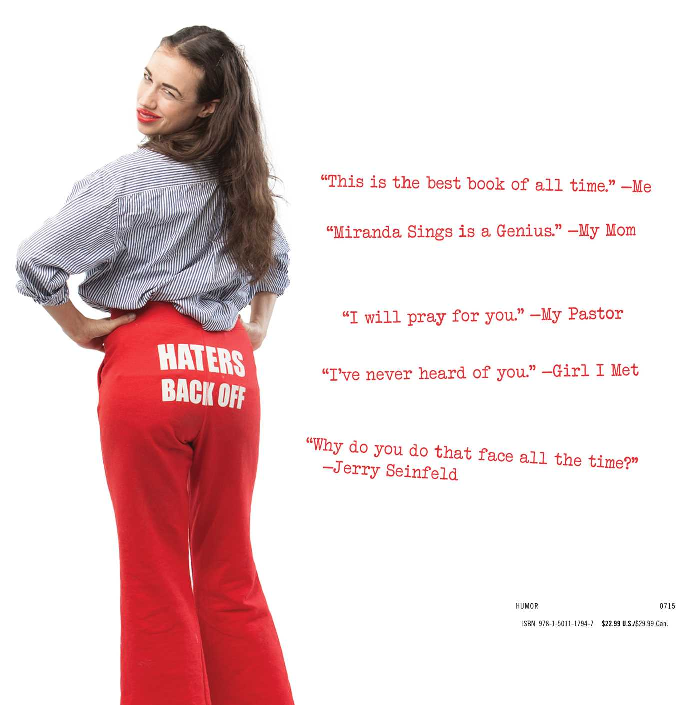 Selp Helf Book By Miranda Sings Official Publisher