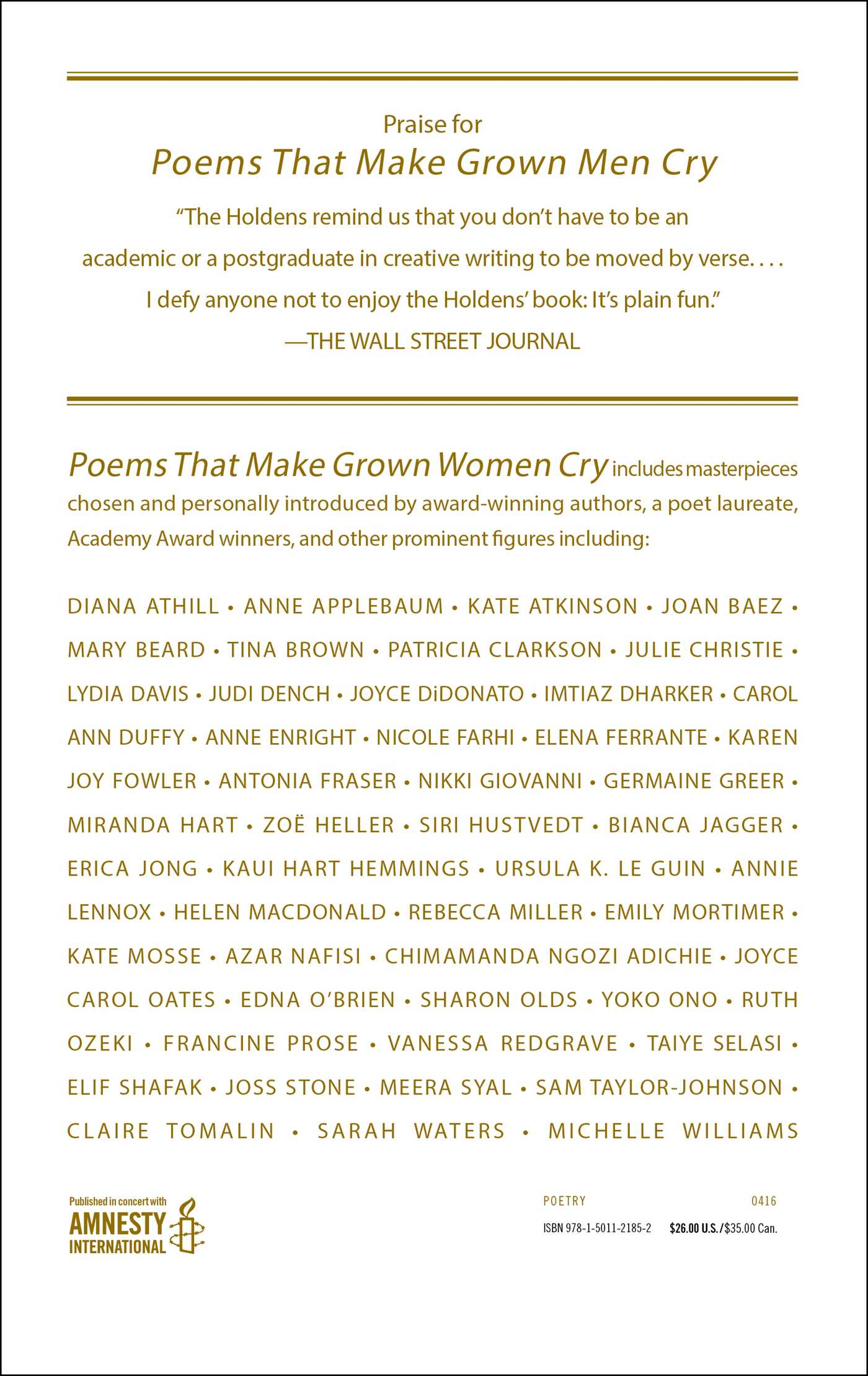 Poems that make grown women cry 9781501121852 hr back