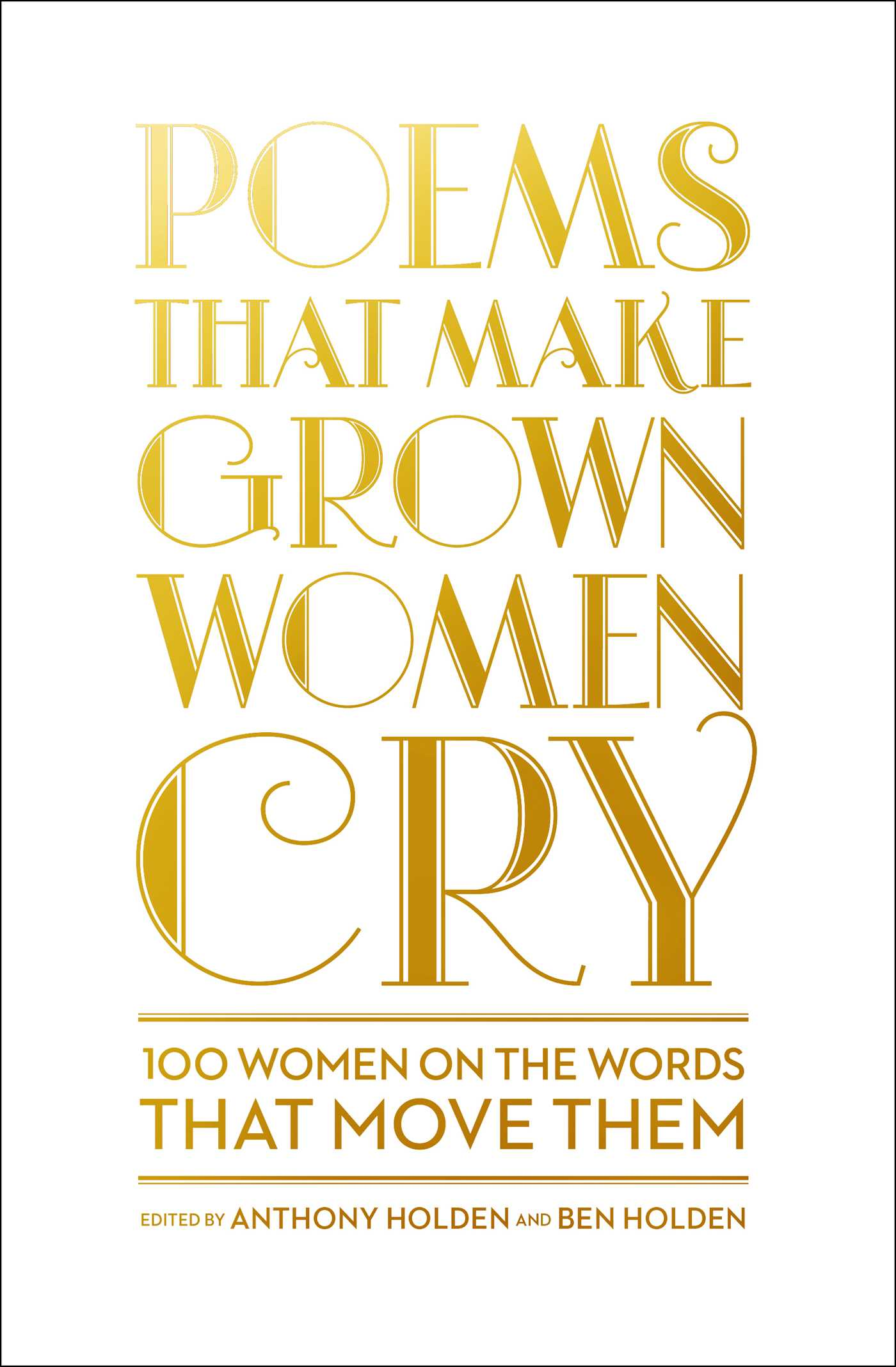 Poems that make grown women cry 9781501121852 hr