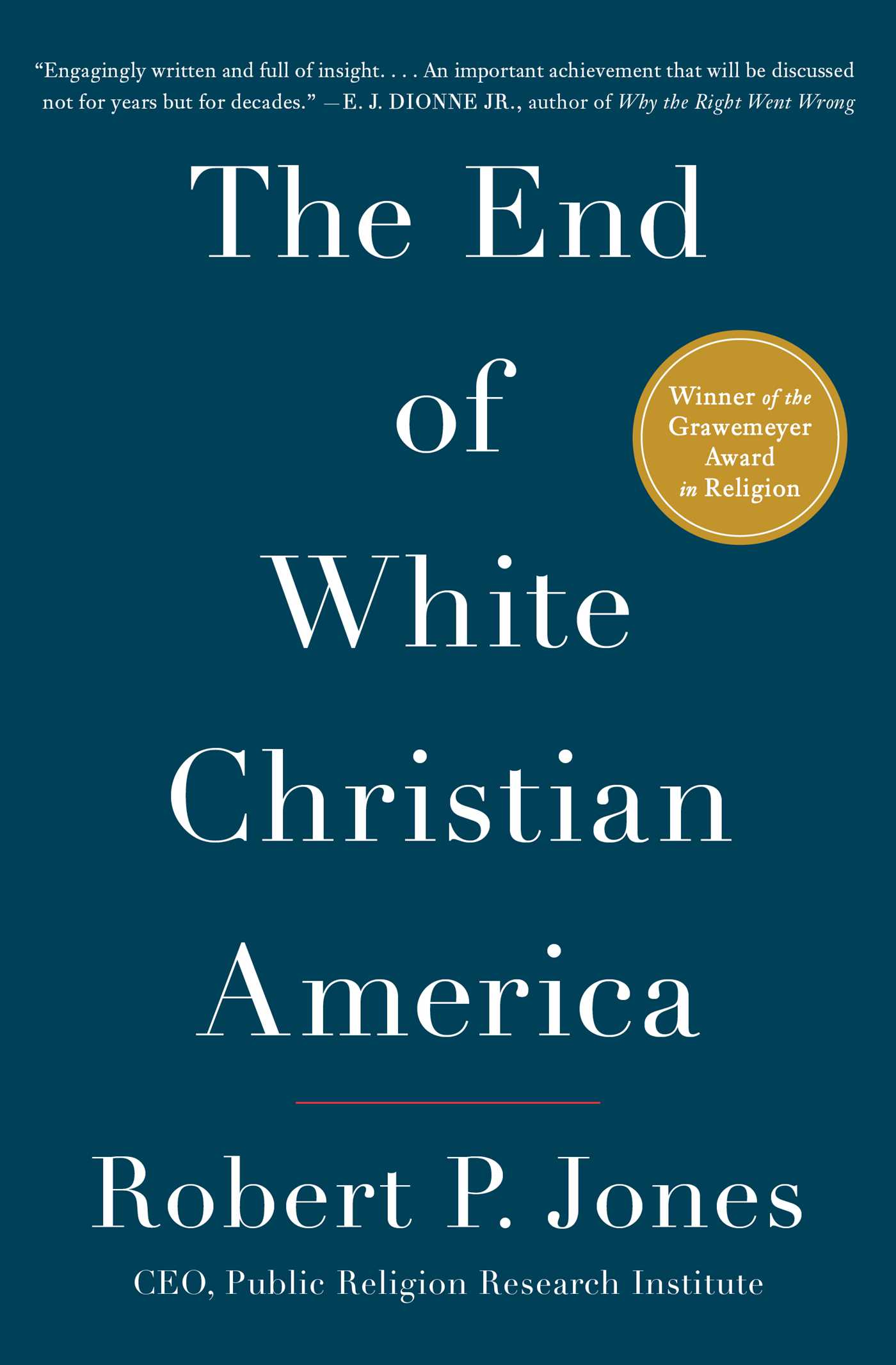 The end of white christian america 9781501122323 hr