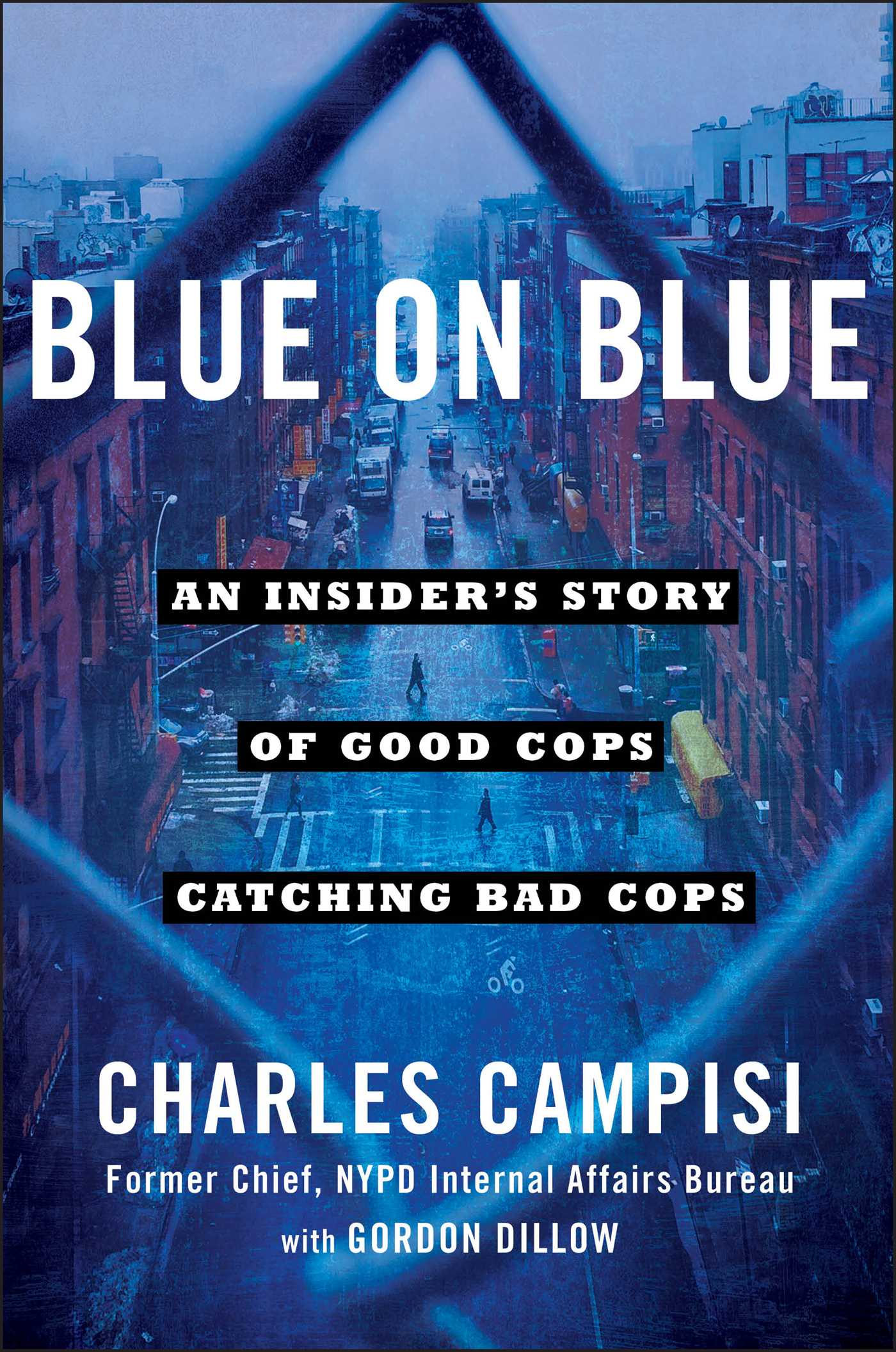Blue Covered Book : Charles campisi official publisher page simon schuster