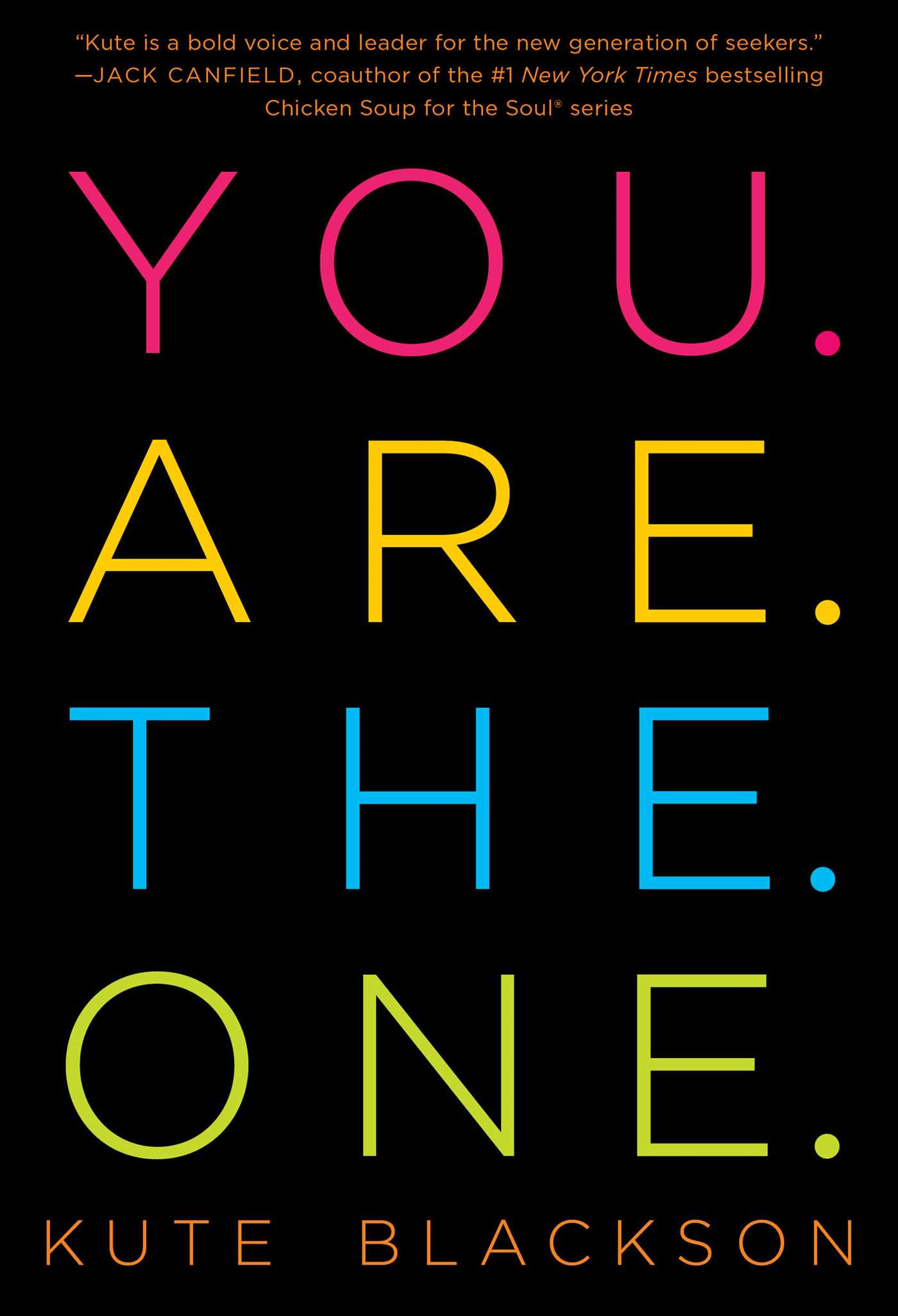 You are the one 9781501127274 hr