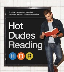Hot Dudes Reading book cover