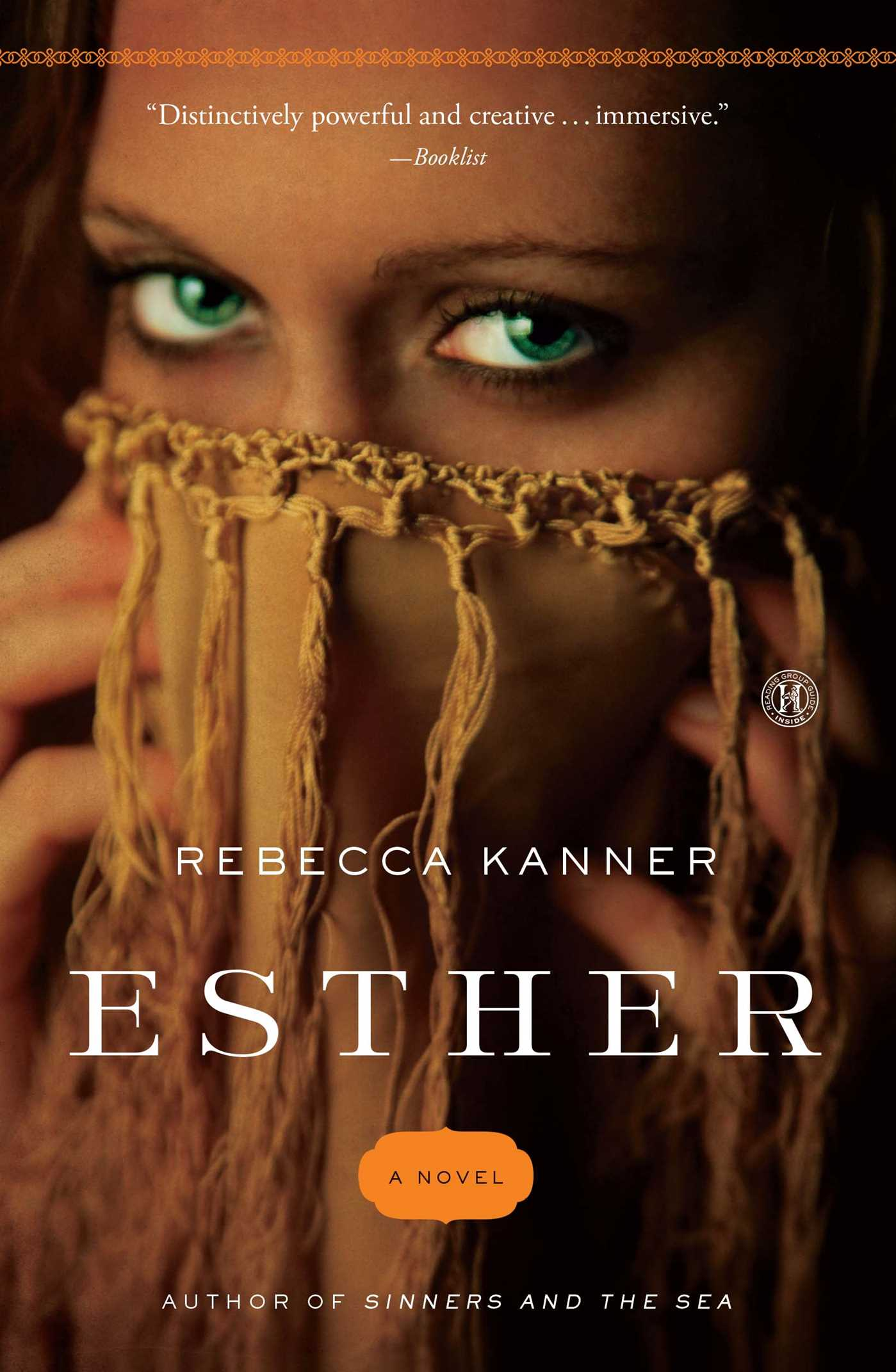 esther book by rebecca kanner official publisher page simon