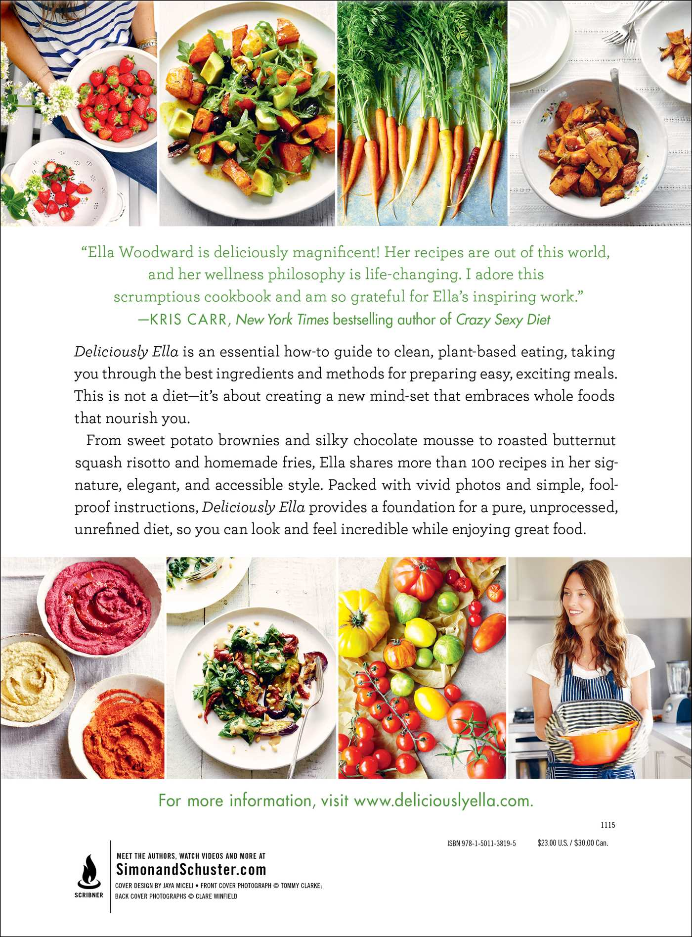 Deliciously ella 9781501138195 hr back
