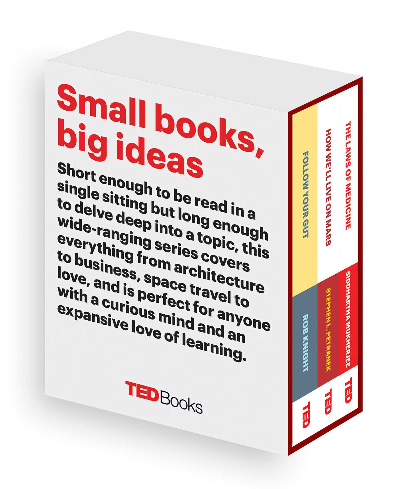 Ted books box set the science mind 9781501139116 hr