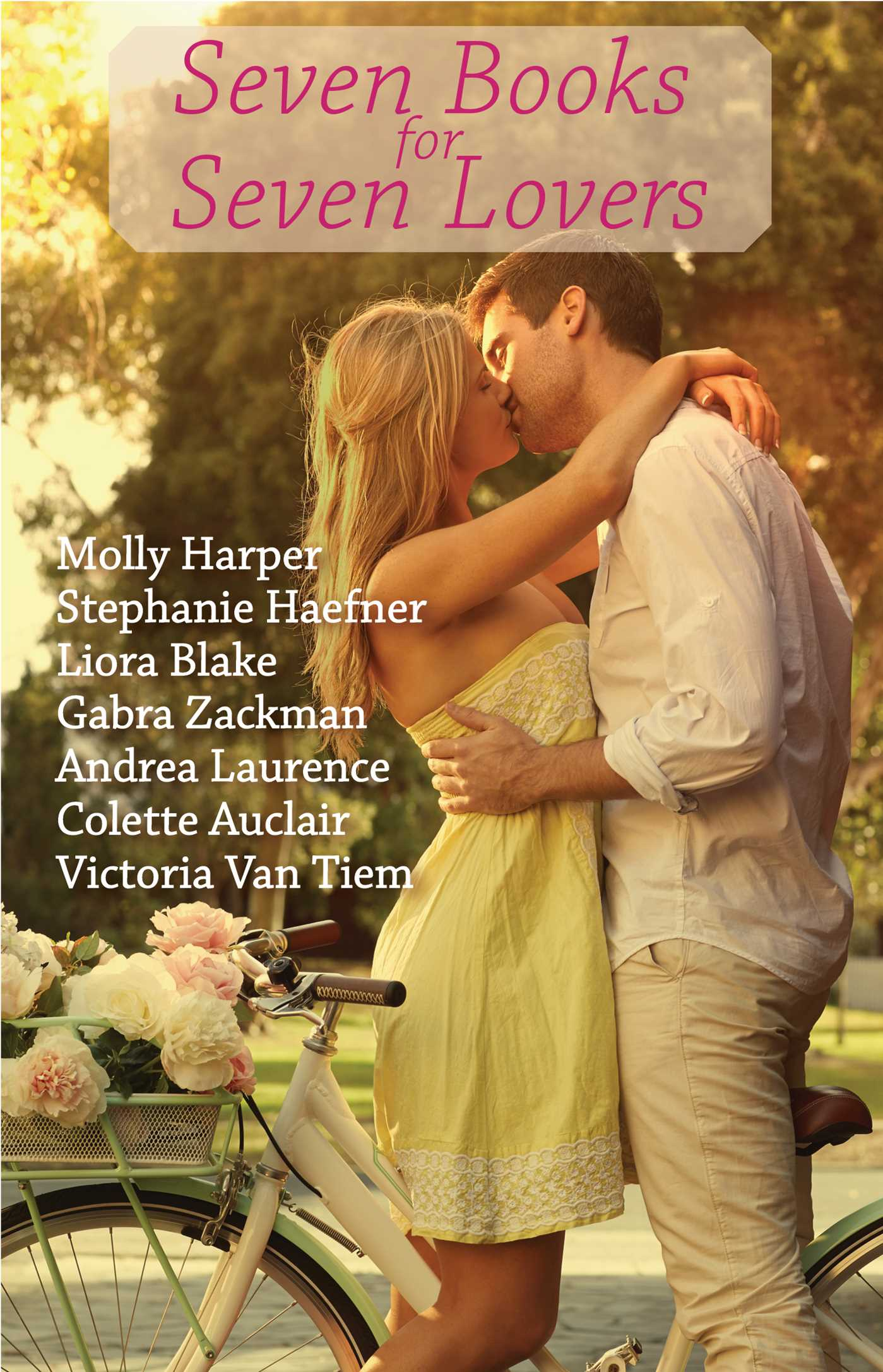 Book Cover Image (jpg): Seven Books For Seven Lovers Ebook 9781501140150