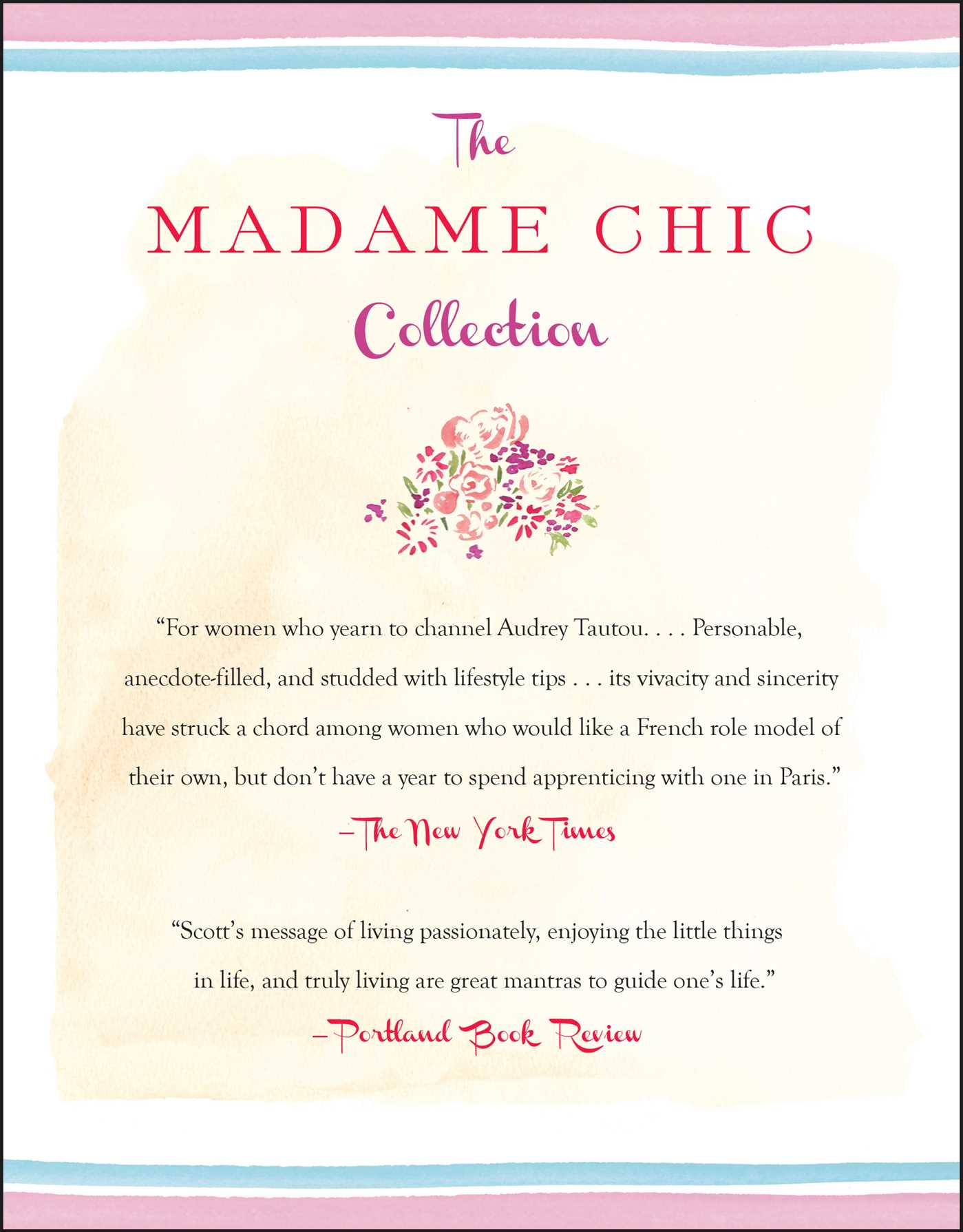 The madame chic collection 9781501147661 hr back