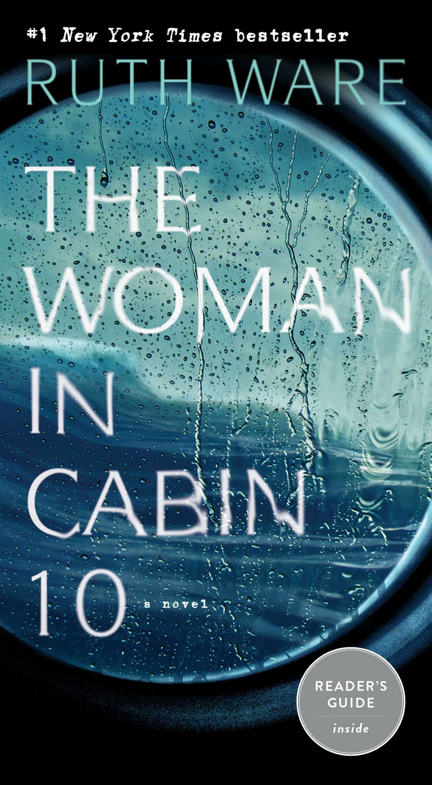 Image result for woman in cabin 10 book cover