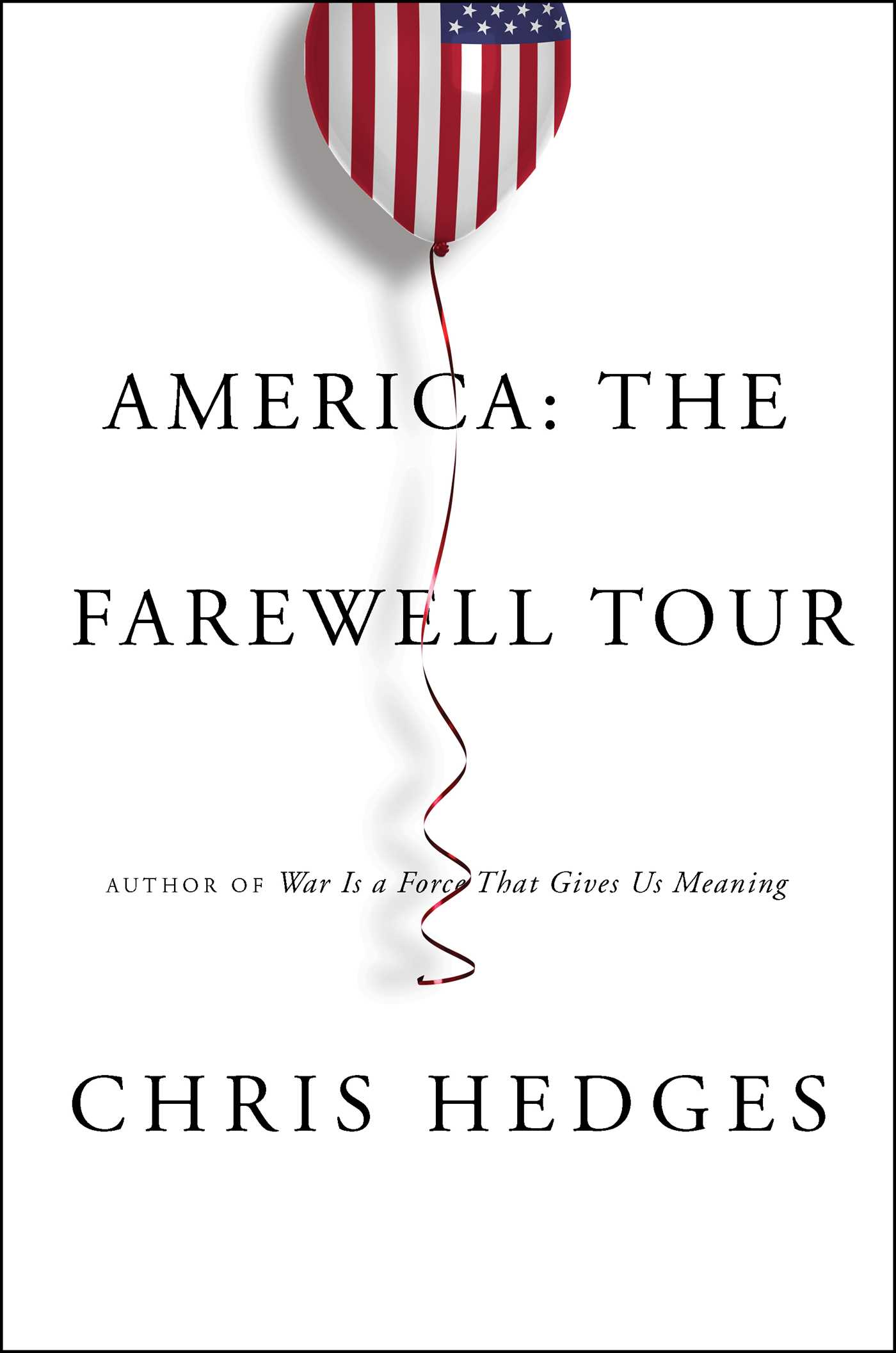 America the farewell tour 9781501152672 hr