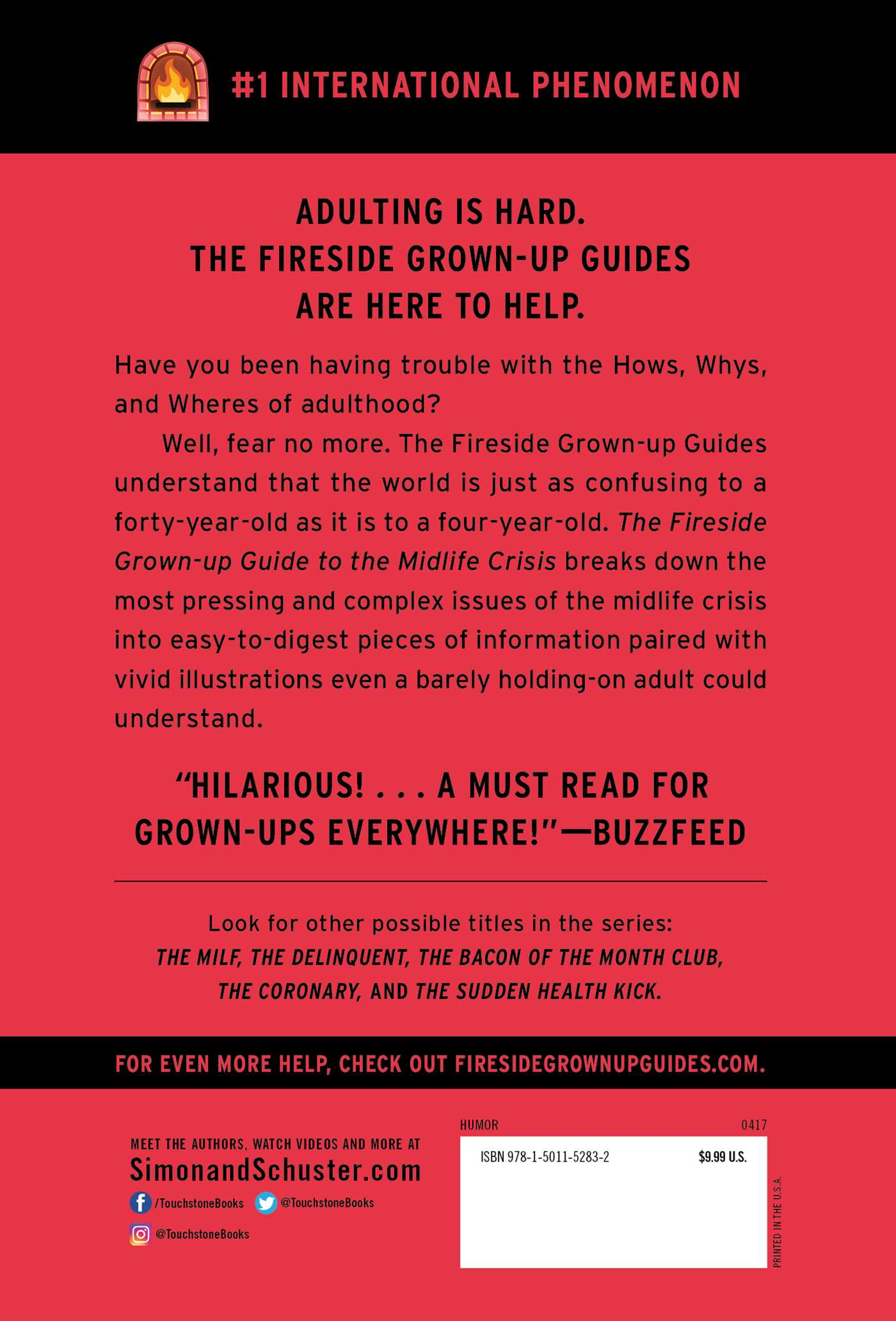 The fireside grown up guide to the midlife crisis 9781501152832 hr back