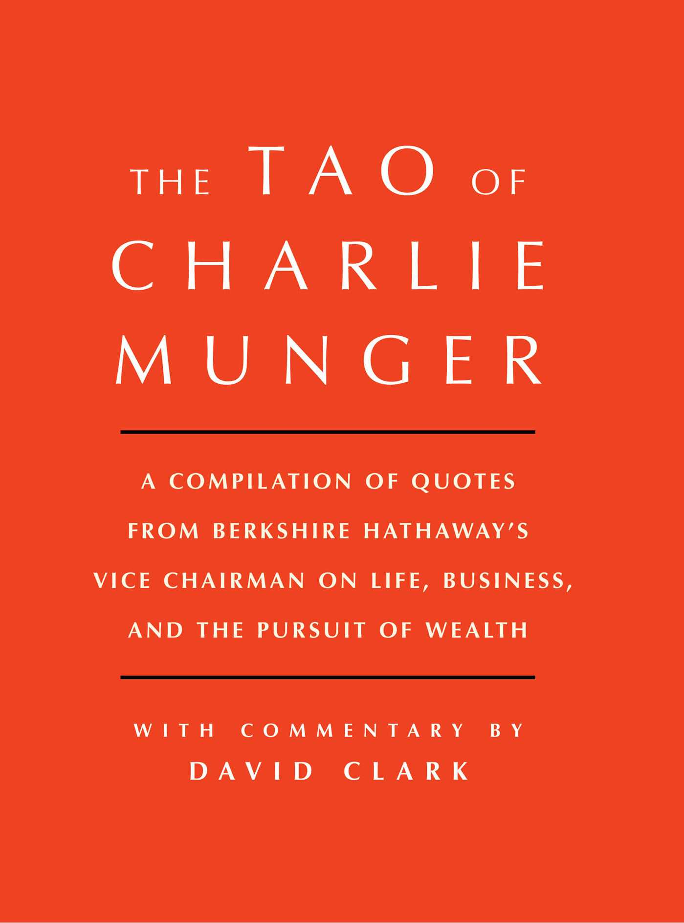 Tao of charlie munger 9781501153358 hr
