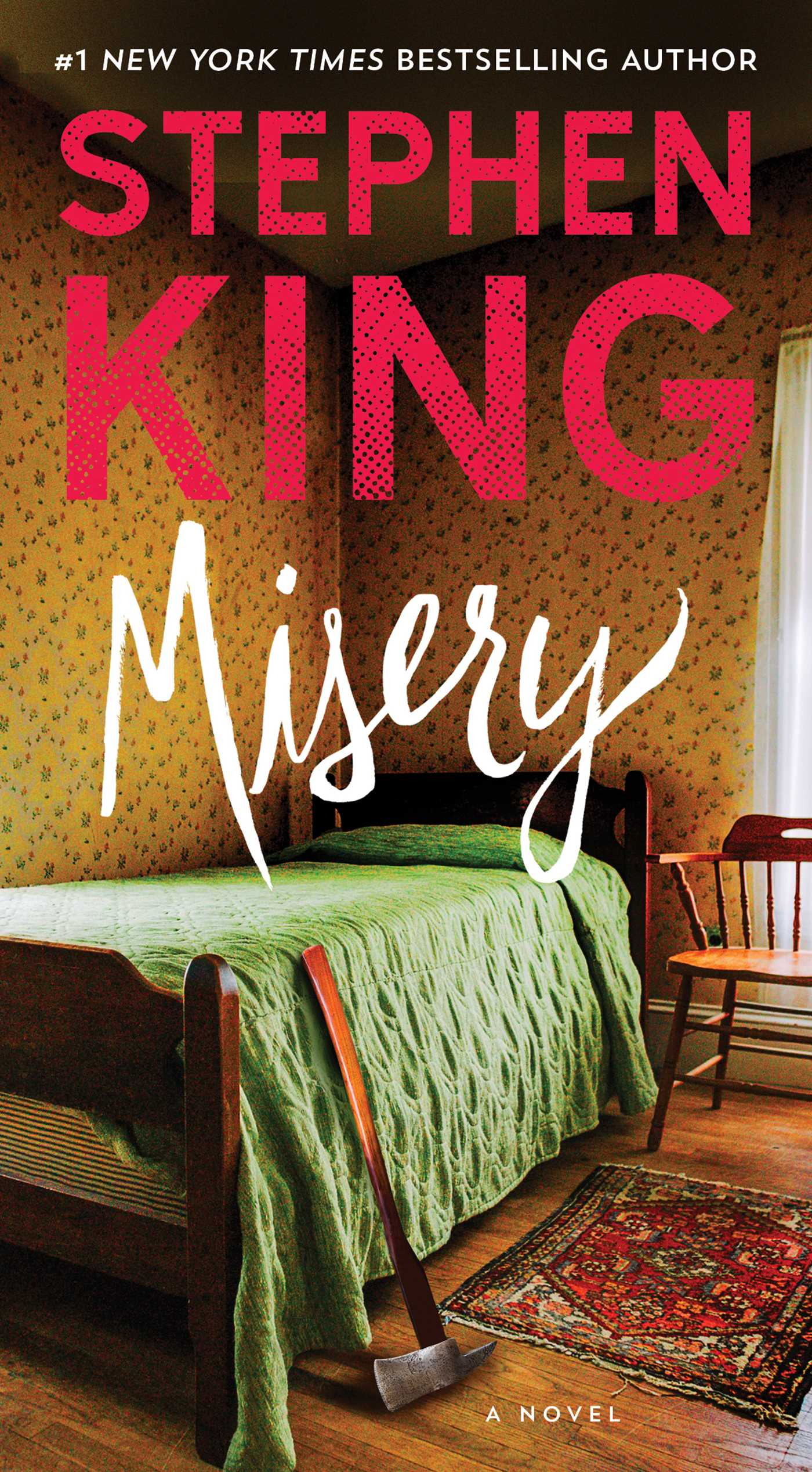 a review of misery a novel by stephen king Orders over $35 buy misery : a novel at walmartcom  see all 72 reviews 5  stars 44  on0reviews misery is the book that made me a stephen king fan.