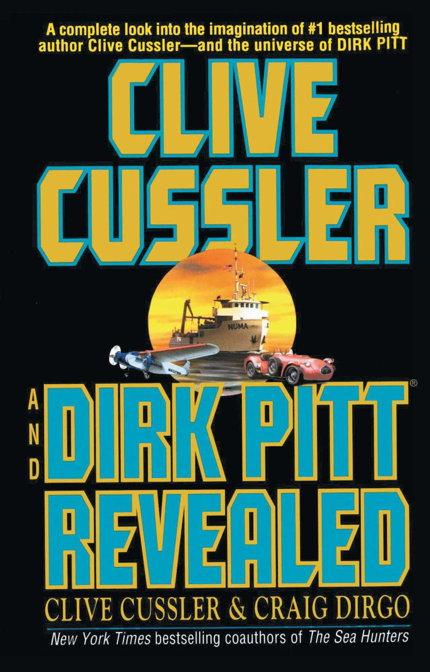 Clive cussler and dirk pitt revealed 9781501162060 hr