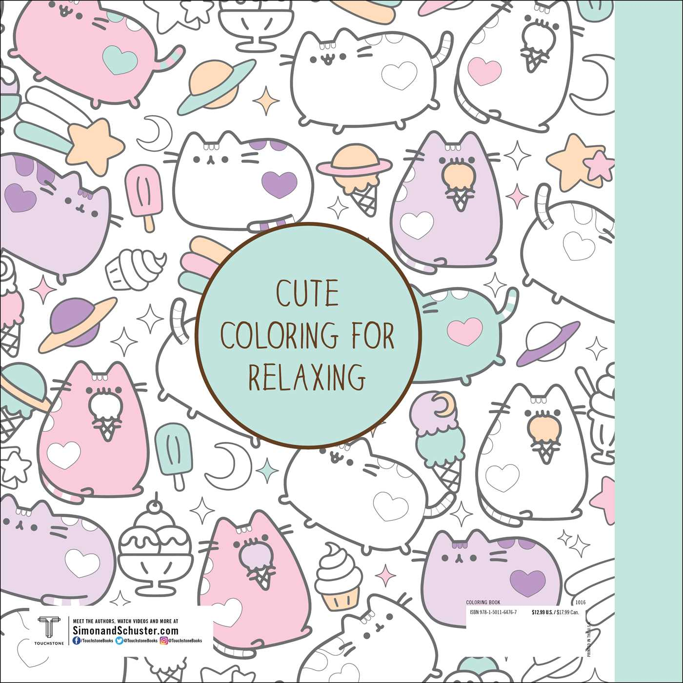 Pusheen Coloring Book | Book by Claire Belton | Official Publisher ...