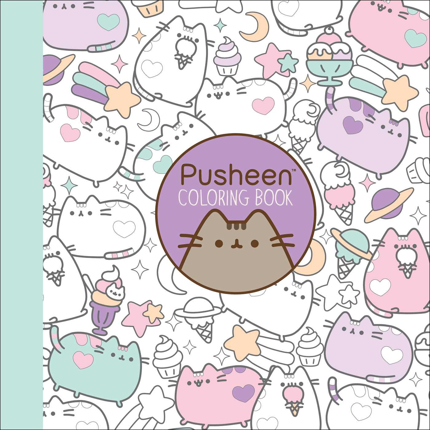 Pusheen Coloring Book