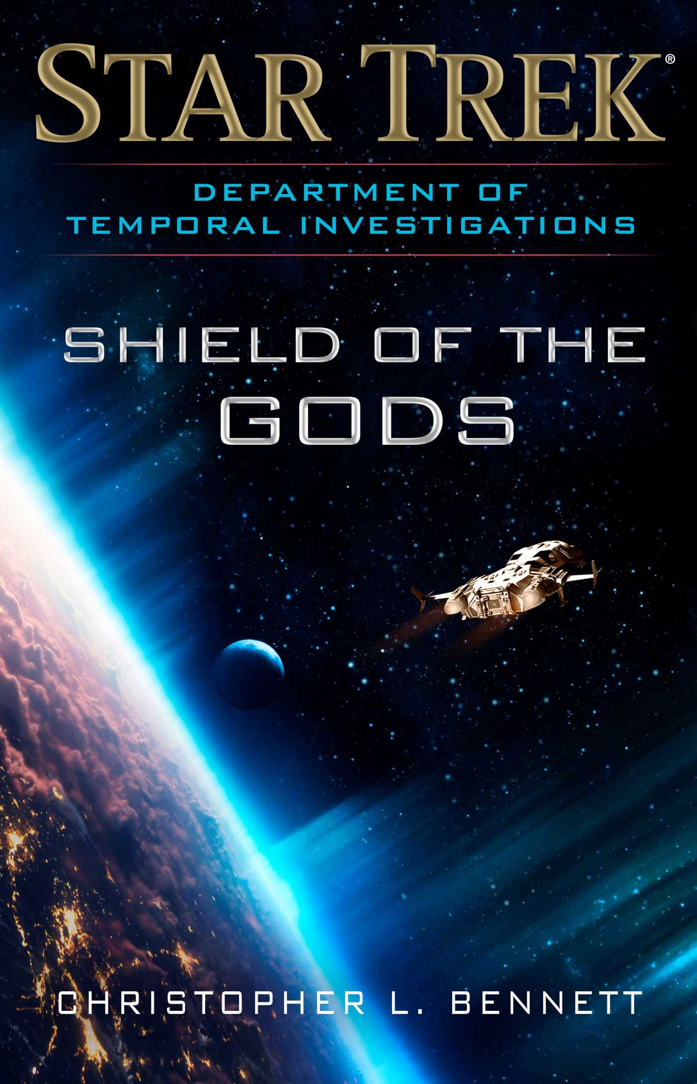 Department of temporal investigations shield of the gods 9781501164880 hr