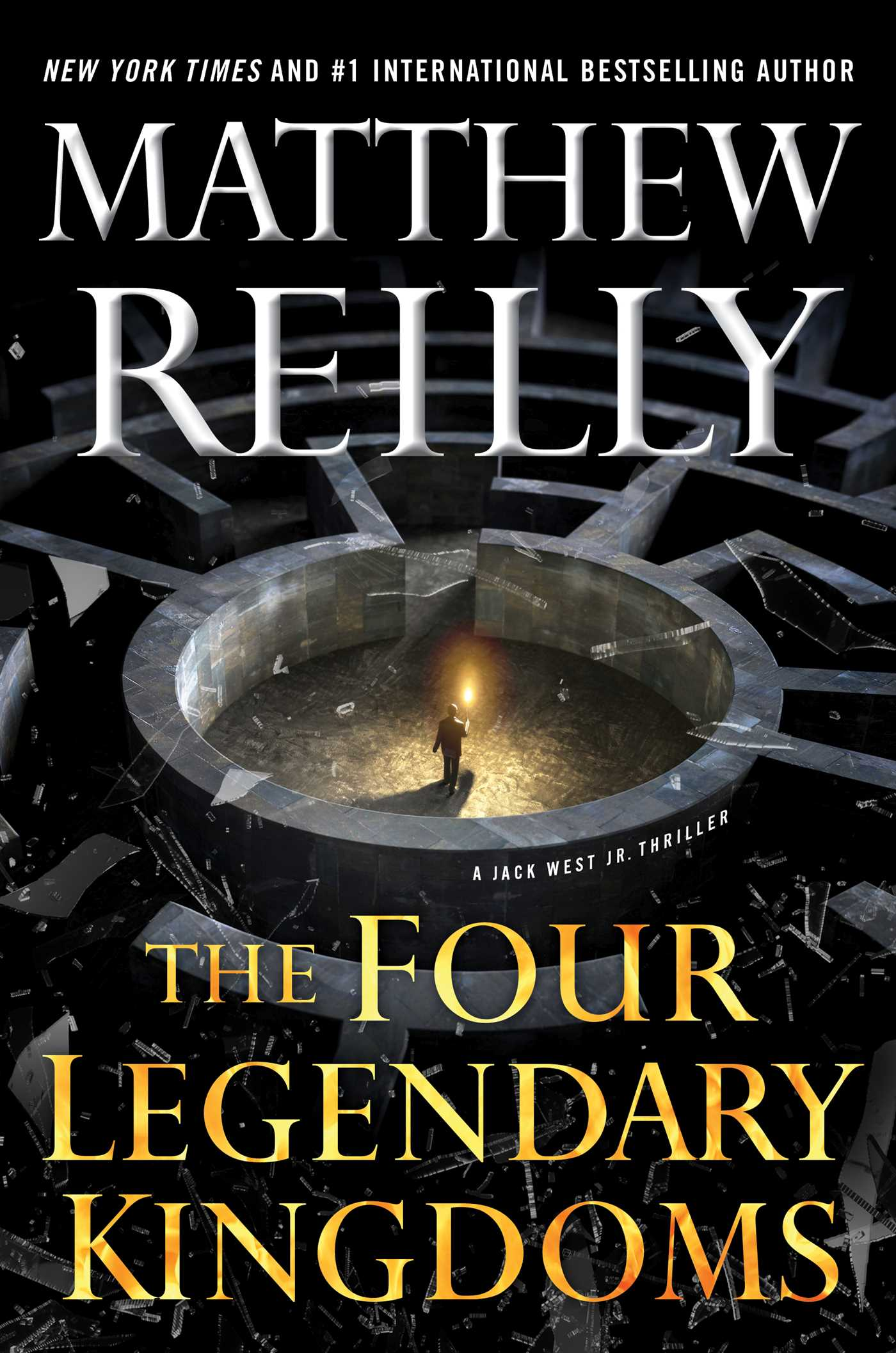 The four legendary kingdoms 9781501167157 hr