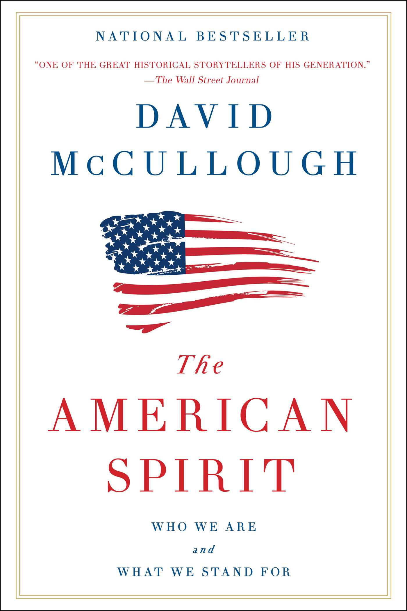 The american spirit 9781501174209 hr