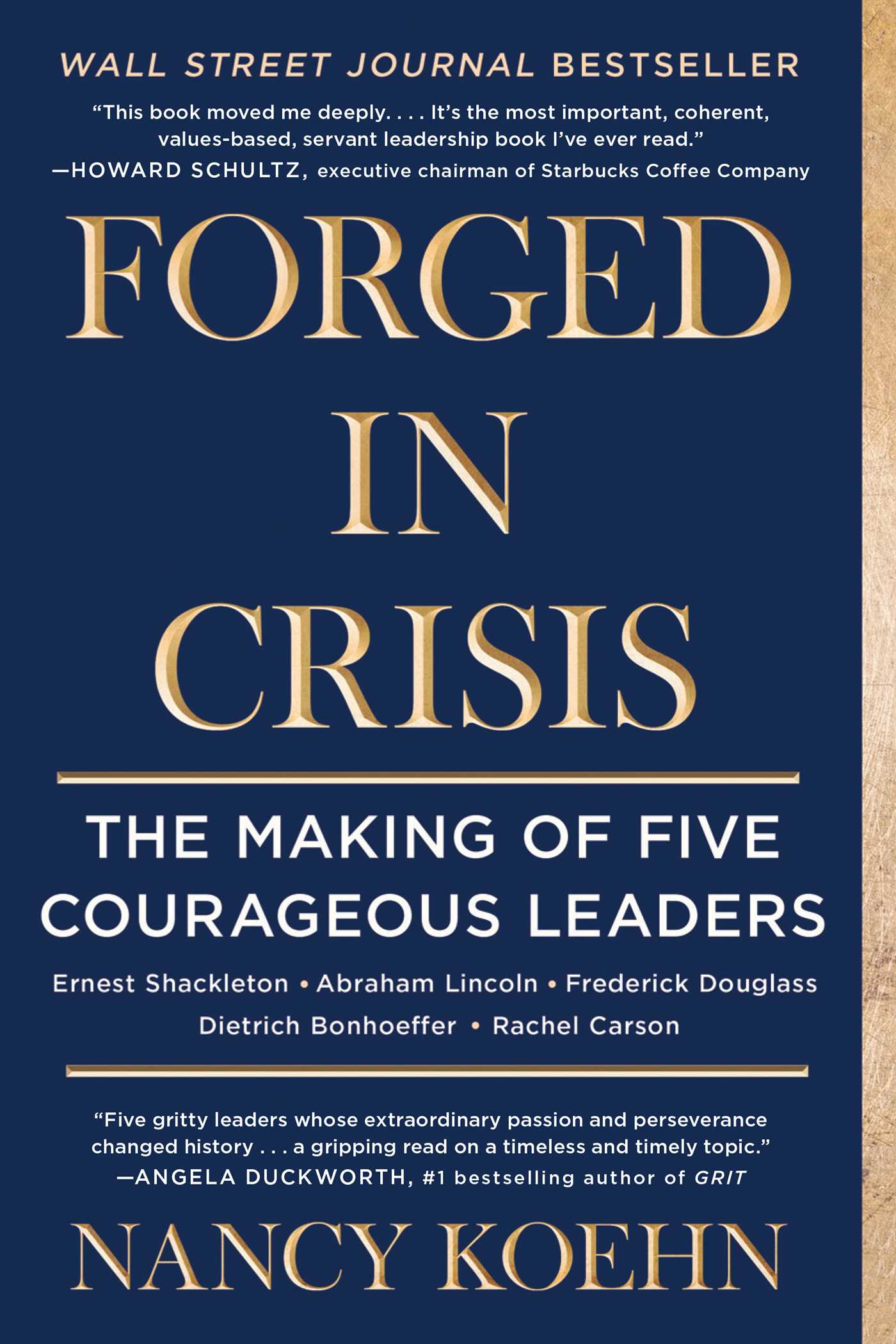 Forged in crisis ebook by nancy koehn official publisher page the power of courageous leadership in turbulent times fandeluxe Document