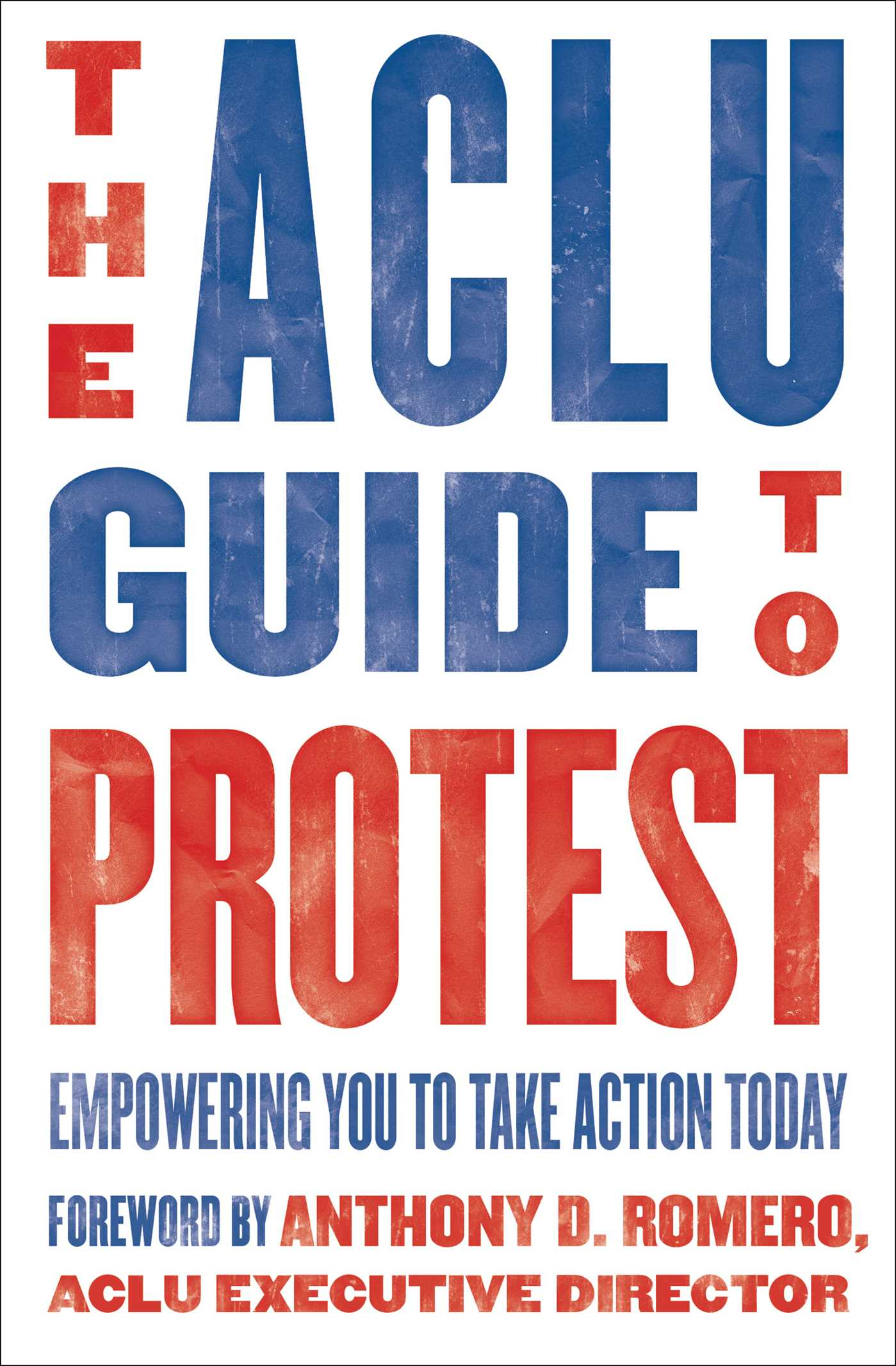 The aclu guide to protest 9781501188275 hr