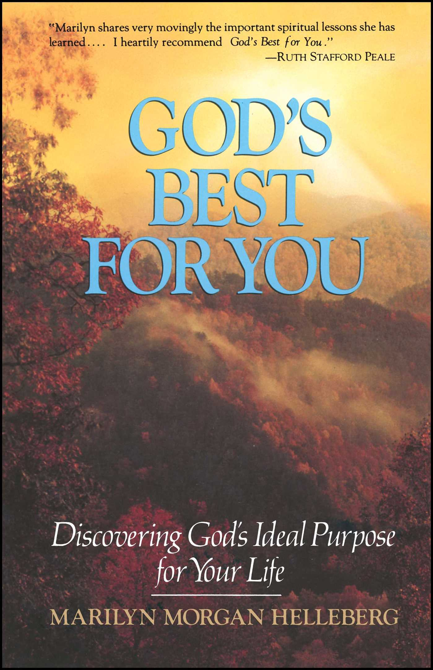Gods best for you 9781501189395 hr