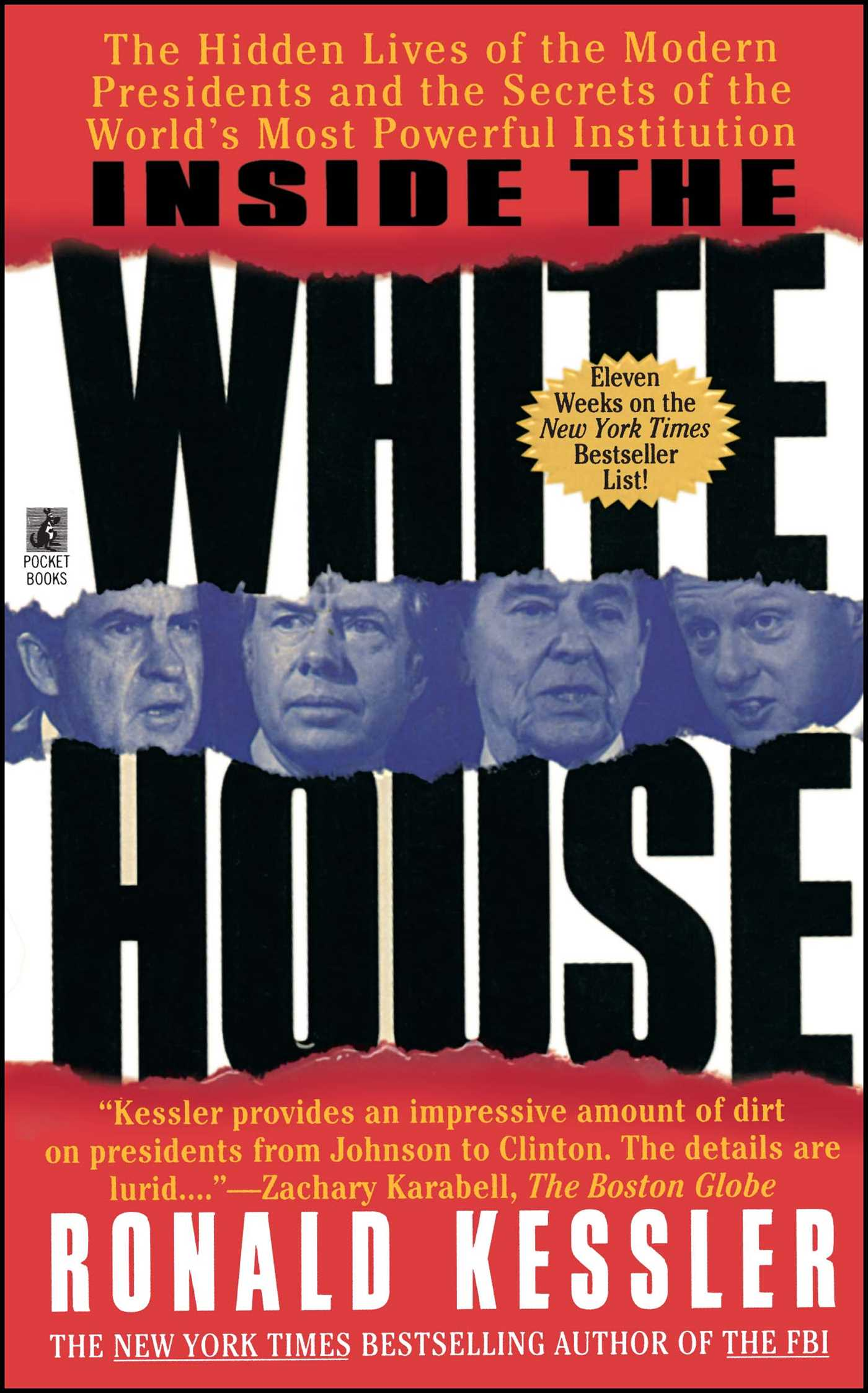Inside The White House Book By Ronald Kessler Official