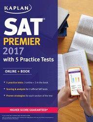 SAT Premier 2017 with 5 Practice Tests