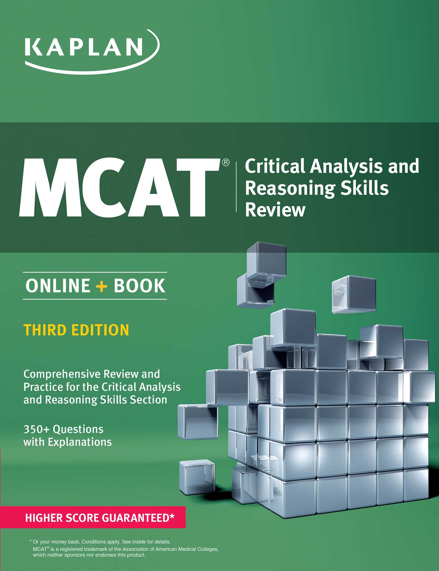 MCAT Critical Analysis and Reasoning Skills Review | Book by ...