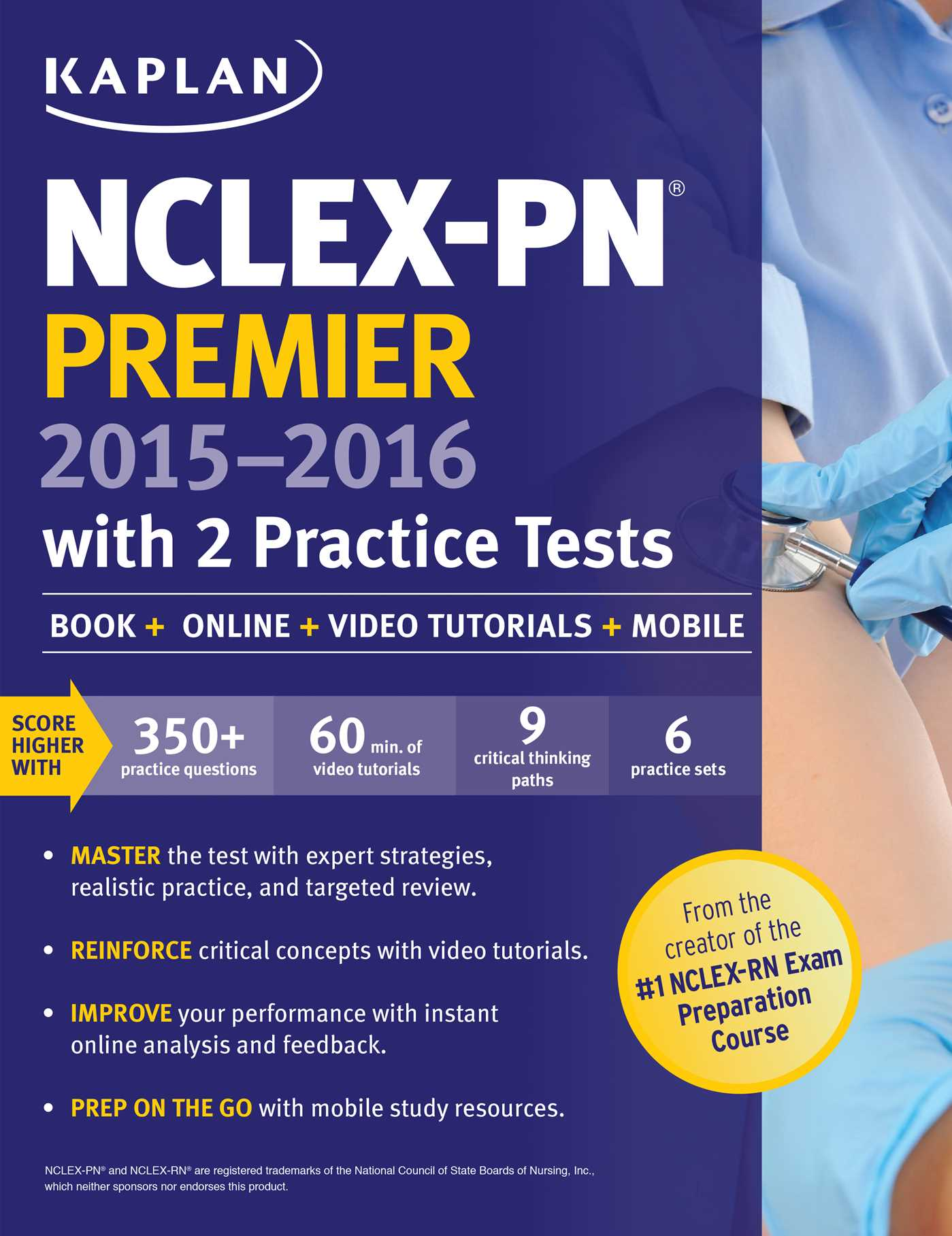 ready to pass nclex pn review book