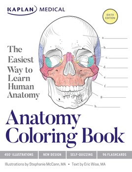 Anatomy Coloring Book | Book by Stephanie McCann, Eric Wise ...