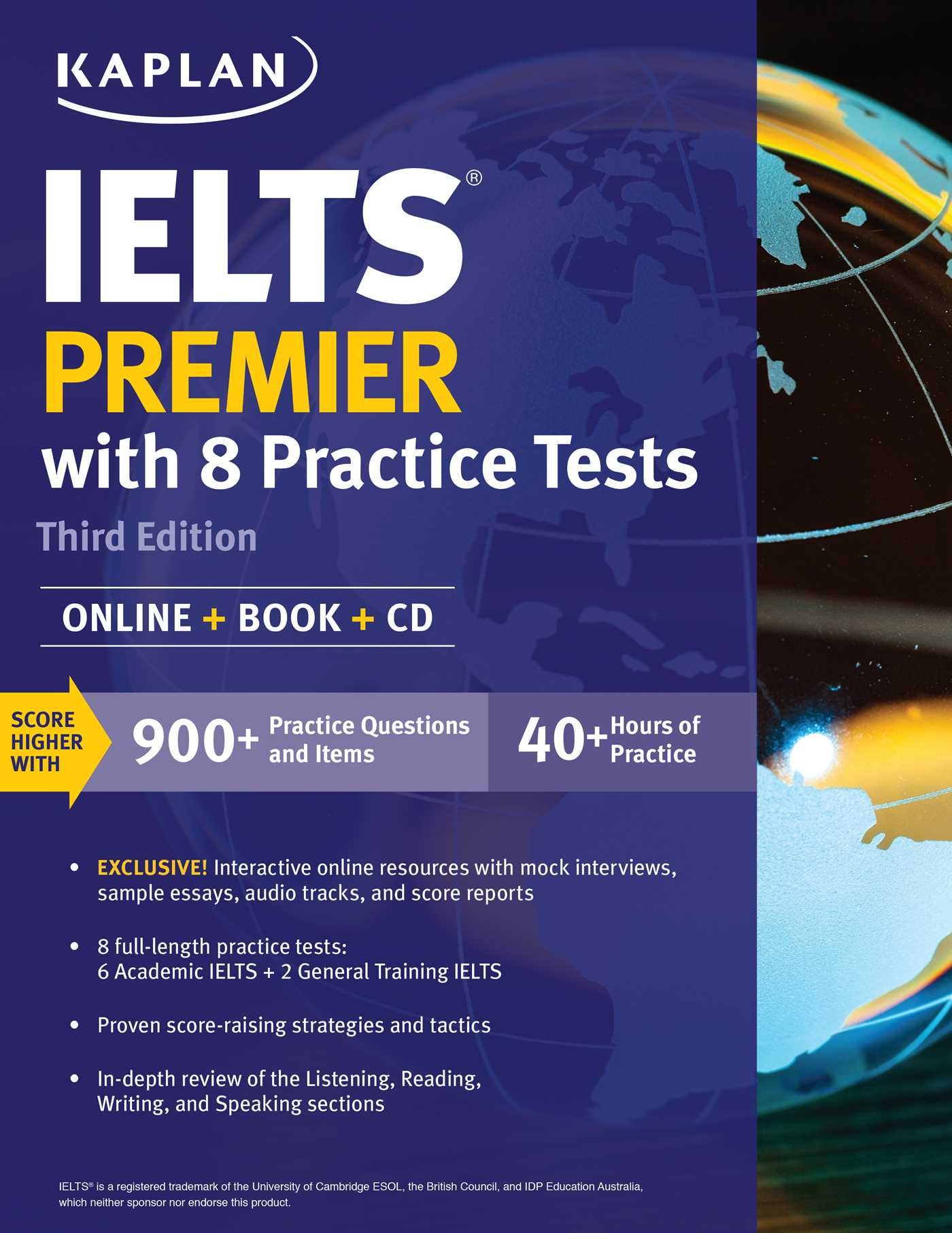 Ielts premier with 8 practice tests book by kaplan kaplan test ielts premier with 8 practice tests 9781506208671 hr fandeluxe Gallery