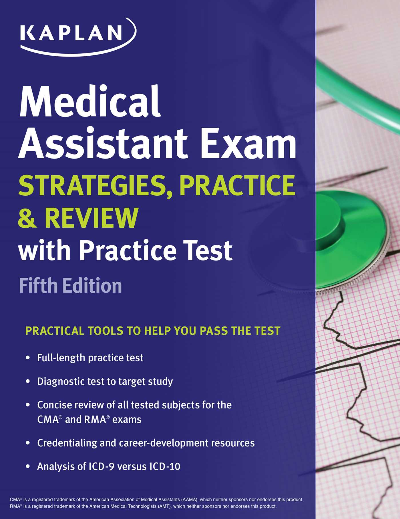 Medical assistant exam strategies practice review with practice medical assistant exam strategies practice review with practice test 9781506209340 hr xflitez Choice Image