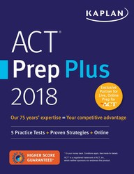 ACT Prep Plus 2018