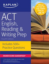 ACT English, Reading & Writing Prep