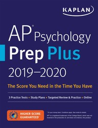 AP Psychology Prep Plus 2019-2020