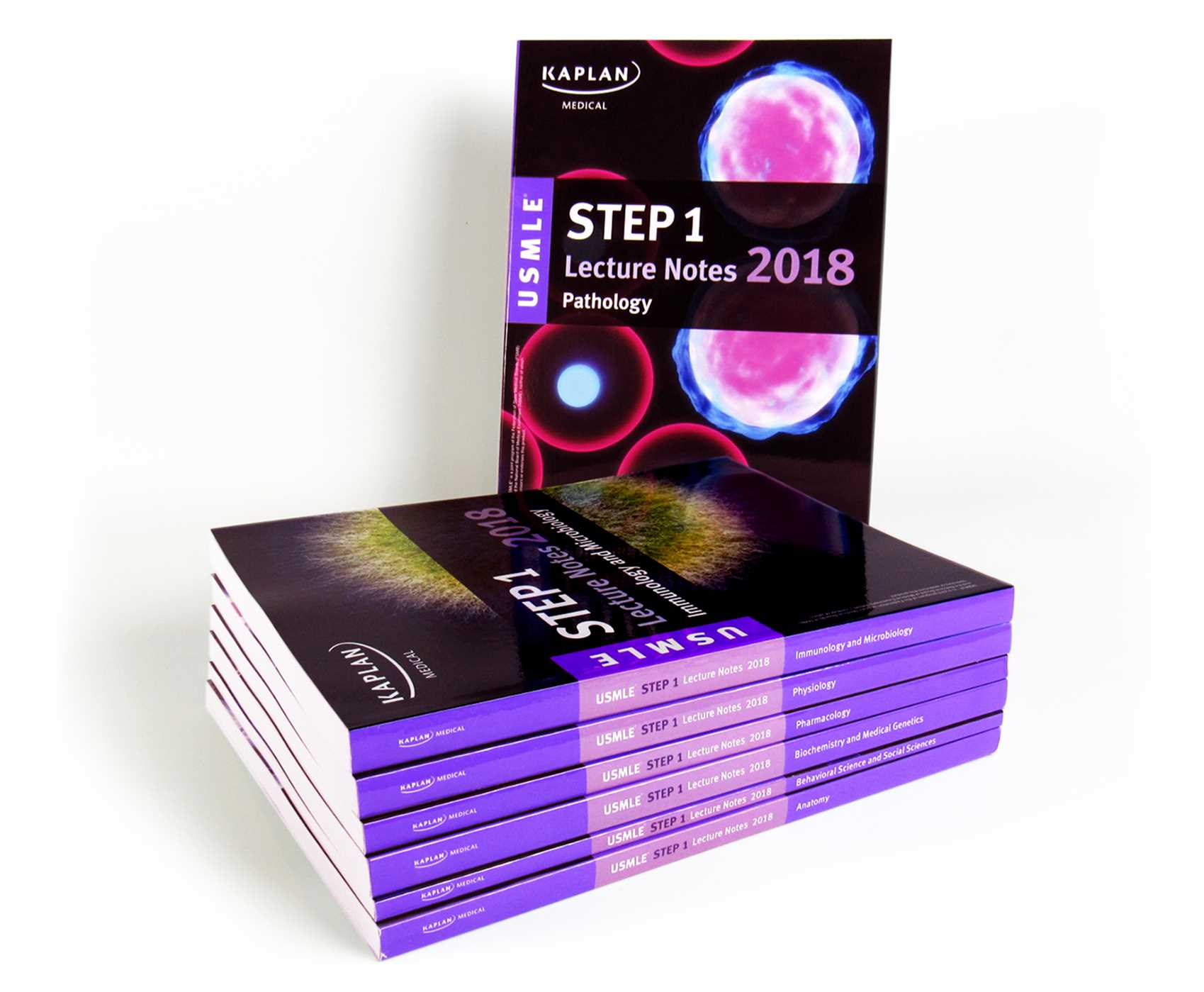 Usmle Step 1 Lecture Notes 2018 7 Book Set Book By Kaplan Medical