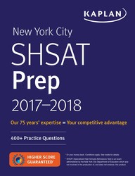 New York City SHSAT Prep 2017-2018