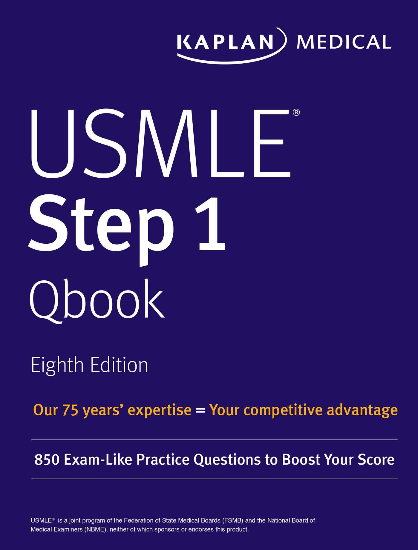 USMLE Step 1 Qbook | Book by Kaplan Medical | Official Publisher ...