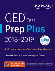 GED Test Prep Plus 2018-2019