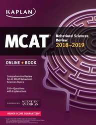 MCAT Behavioral Sciences Review 2018-2019