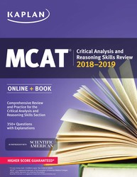 MCAT Critical Analysis and Reasoning Skills Review 2018-2019