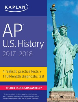 AP US History Book By Krista Dornbush Official - Ap us history map test