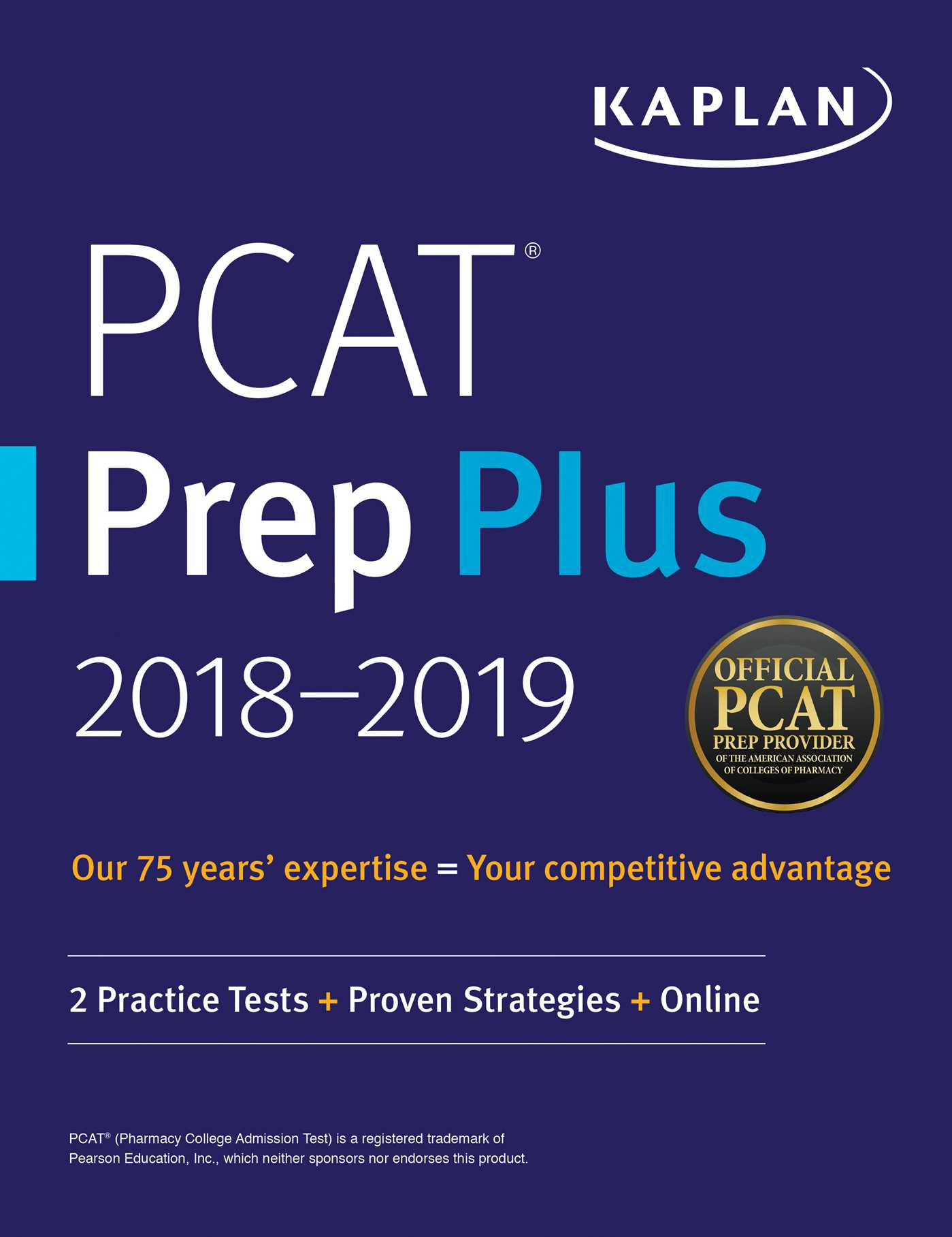 Pcat prep plus 2018 2019 ebook by kaplan test prep official ebook 9781506228877 fandeluxe Image collections