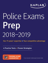 Police Exams Prep Plus 2018-2019